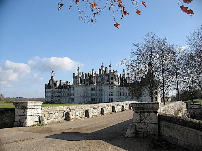 Замок Шамбор – королевский каприз 85154