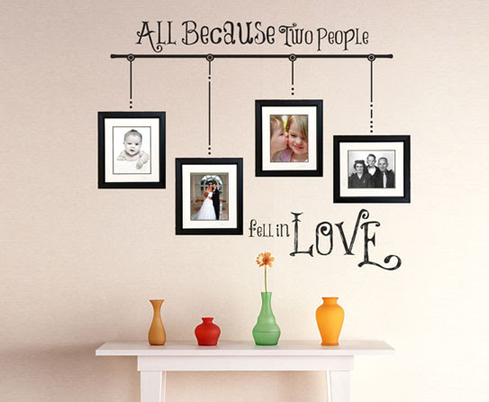 Different Arrangement Ideas Of Photo Frames