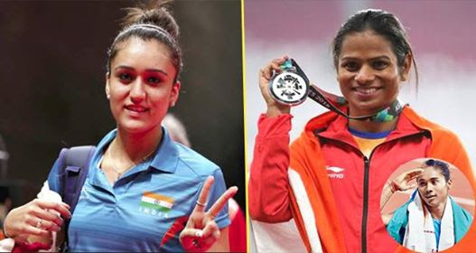 List Of Women Achievers Making Us Proud At Asian Games 2018