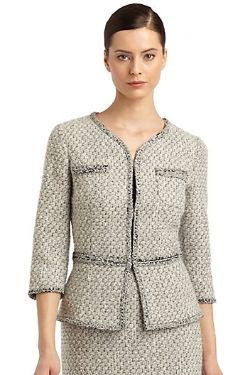 St. John Frisse Tweed Jacket