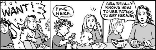 Home Spun comic strip #601