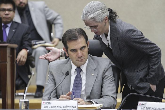 Resultado de imagen para Lorenzo Cordova y otros consejeros del INE