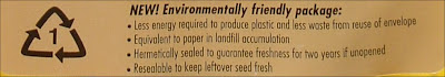 Environmentally Friendly Seed Packages
