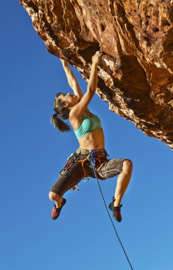 female-rock-climber