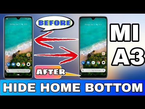 Mi A3 Home Button Hide Without Root