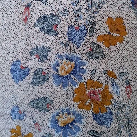 Motif Batik Gambar Flora Yang Mudah Digambar Dan Berwarna ...