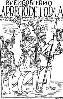 El final del emperador inca Tupac Amaru, trasladado fuera de Vilcabamba.