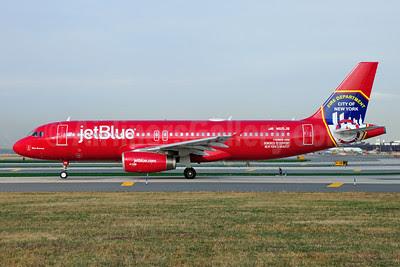 JetBlue Airways Airbus A320-232 N615JB (msn 2461) (FDNY - Fire Department New York) JFK (Ken Petersen). Image: 920995.