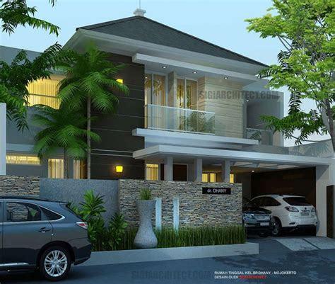 Desain Pagar Rumah Batu Alam Minimalis Sinergi Stone