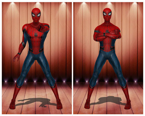 MMD Spiderman Civil War