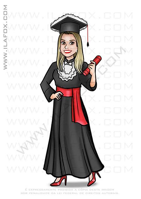 caricatura desenho, caricatura formatura, caricatura para formanda, caricatura personalizada, by ila fox