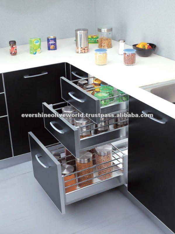 Kitchen Cabinet Magic Corner Basket - Buy Kitchen Cabinet Magic