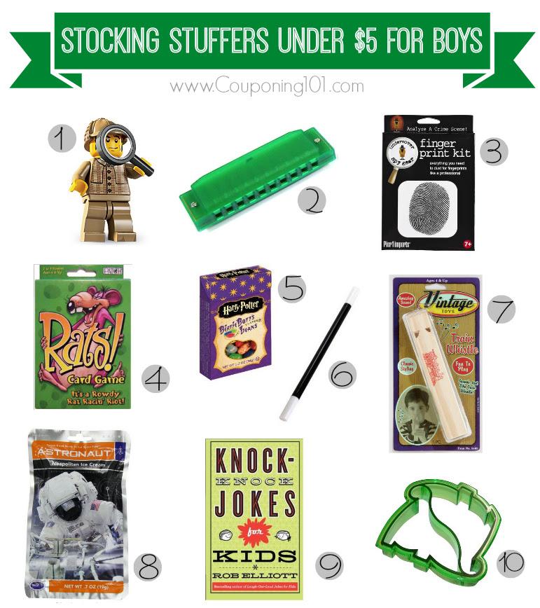 10 Stocking Stuffer Ideas For Boys For 5 Or Less