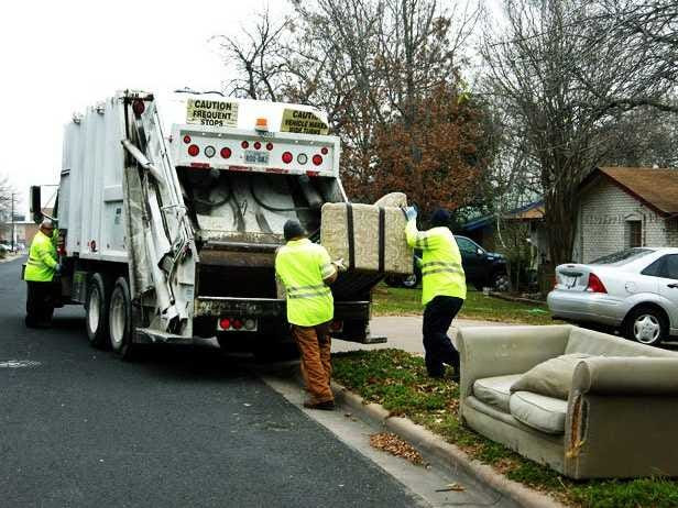 15. Refuse and recyclable material collectors