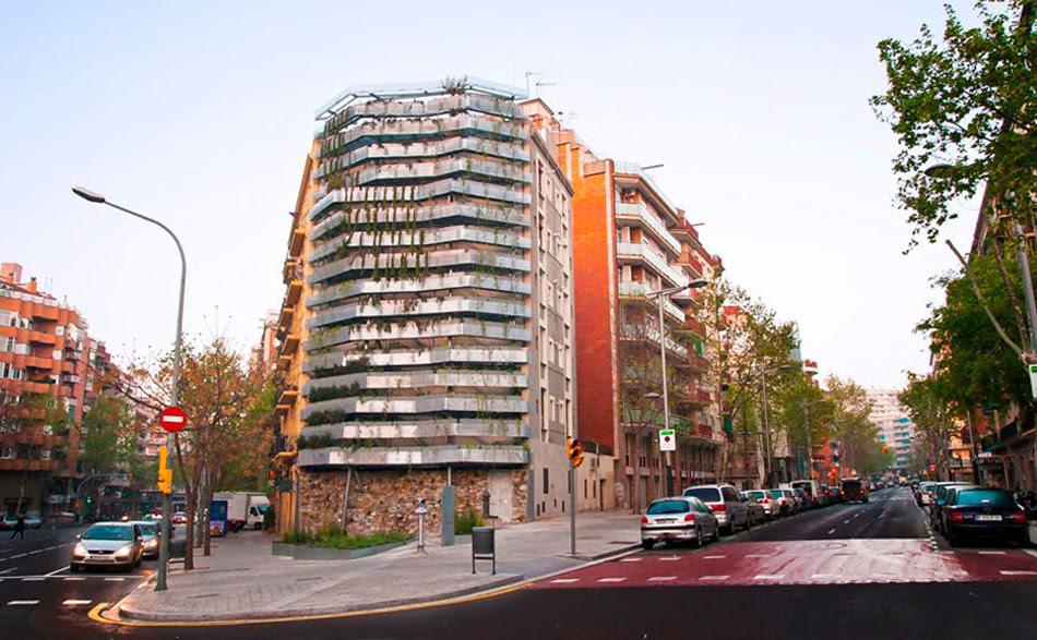 Jardí vertical a Barcelona