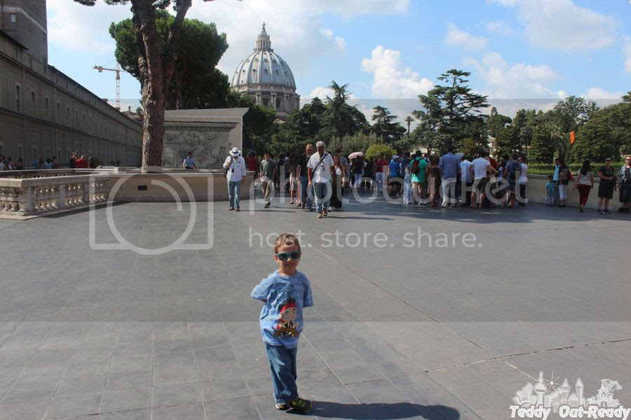 Teddy In Vatican Summer