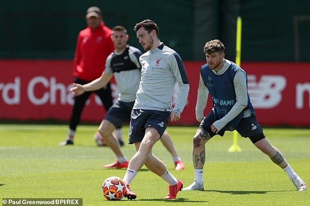 Andy Robertson: 'I worked really hard to get to where I am today'