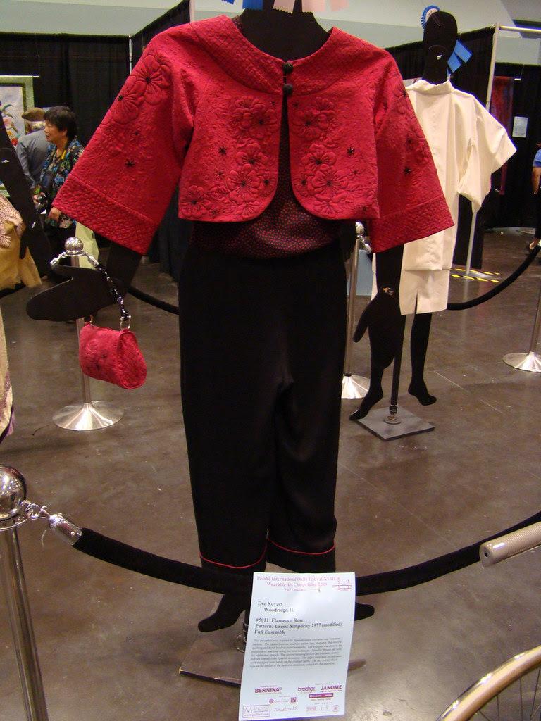 DSC02768 Wearable Art 5011 Flamenco Rose by Eve Kovacs