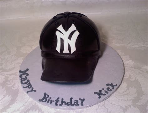 ~ Cakes By Christine NY ~: Yankees Cap Cake, Beer Barrel