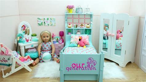 flamingo bedroom decor   generation doll