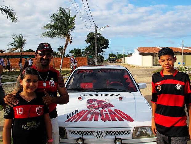 Delcarmen Freire  Flamengo  Fortaleza  (Foto: Janir Junior/Globoesporte.com)