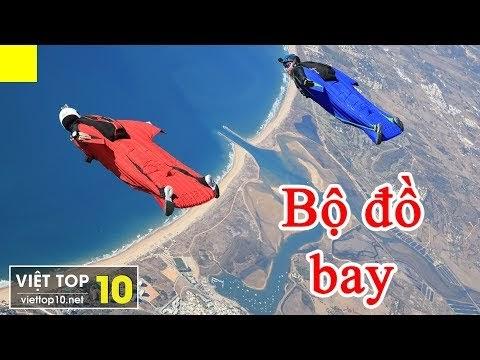 KỲ LẠ: Bộ Đồ giúp con người BAY LƯỢN như loài Chim - Việt Top 10