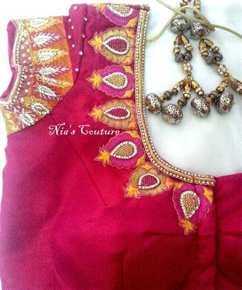 Fashion Unloaded..: Maggam / Hand work designs for Indian