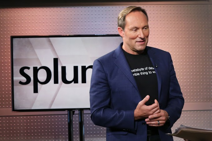 Splunk shares surge to record after rallying 16% in two days