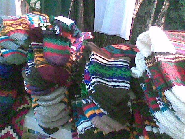 TSUM de pamiri jurab jurabe jourabe crocheted slip stitch socks