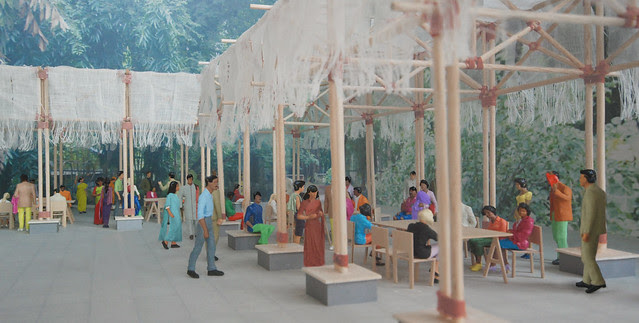 BMW Guggenheim Lab Mumbai, Architect's Model, Dr. Bhau Daji Lad Museum.