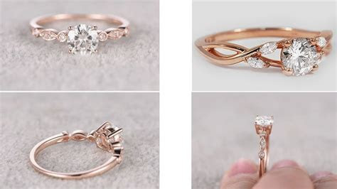 BEST & LATEST GOLD RING DESIGNS FOR GIRLS   Engagement