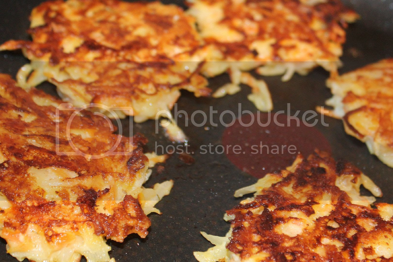 cooked potato cakes