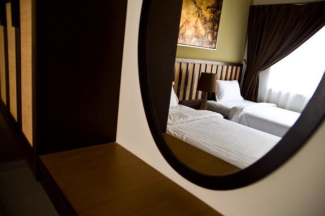 The Bedroom in Mirror