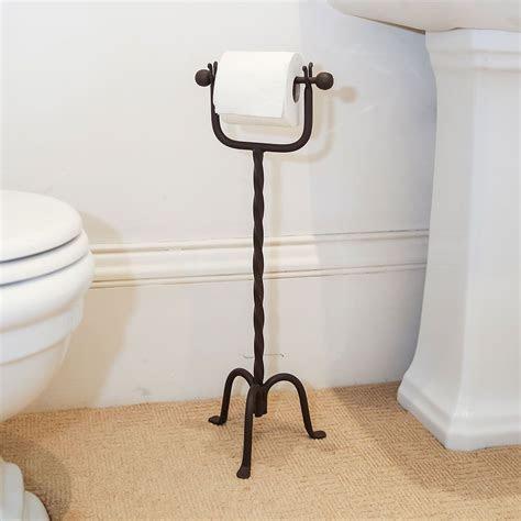 Cast Iron Freestanding Toilet Roll Holder