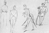 Карикатуры на офицеров. 1832—34 г.