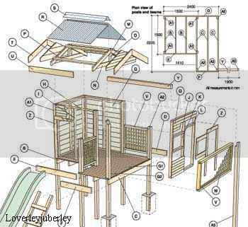 Buildeazy Free Plans Wendy Playhouse