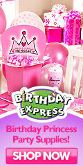 Birthday Princess Party Supplies