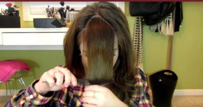 Mit Dieser Tollen Technik Musst Du Nie Wieder Zum Friseur Um Dir