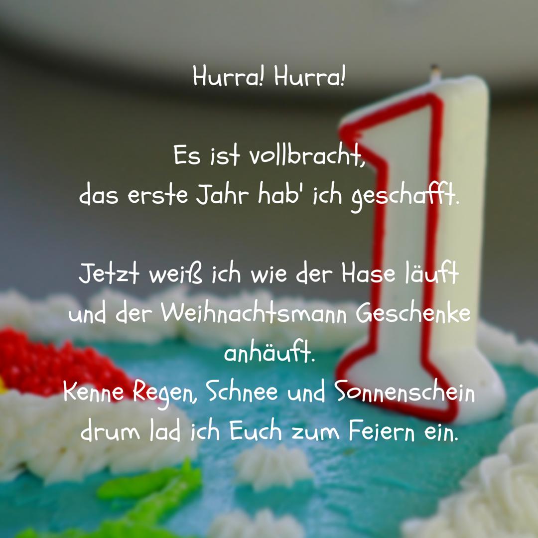 Glückwunschkarten Zum 1. Geburtstag Zum Ausdrucken