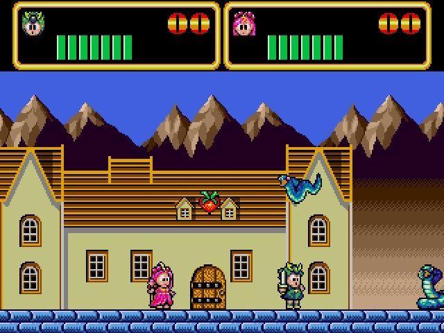 wonder boy in monster lair 1989