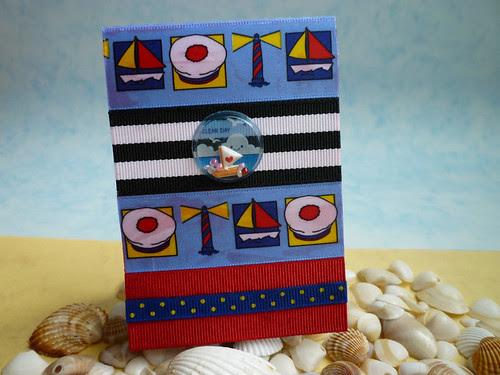 sailor ribbon notebook