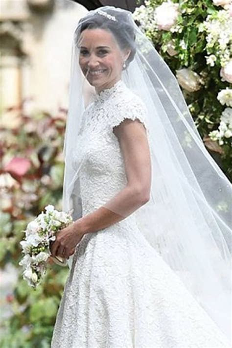Pippa Middleton's wedding dress inspired by famous film