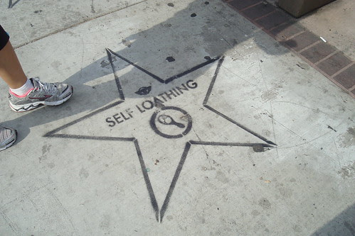 Pre-walk of fame in Hollywood