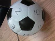 Live, Laugh, Love, Teach: soccer ball multiplication
