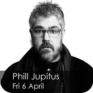 Phill Jupitus - Fri 6 April