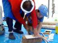木工教室④