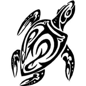 Tribal Sea Turtle Tattoo Clipart Black And White Snowjetco Clip