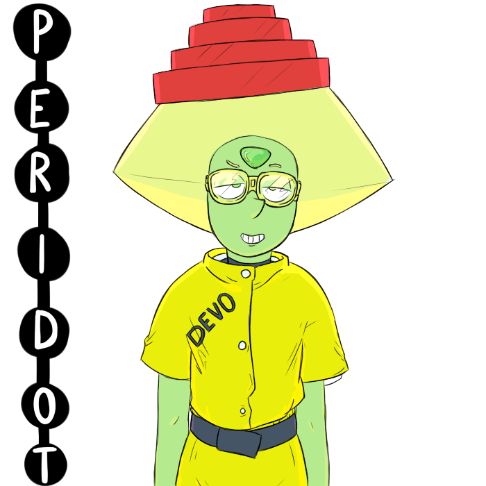 peridot's new outfit 100% real