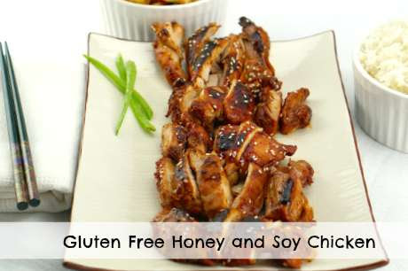 Gluten Free Honey and Soy Chicken