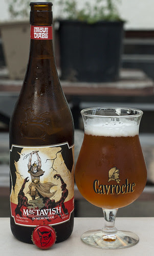 Review: Trou du Diable - MacTavish In Memoriam Pale Ale by Cody La Bière